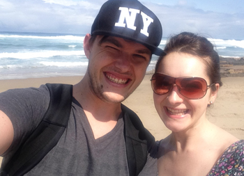 Tristan and Caroline Kirn