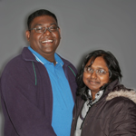 Neelan and Maggie Pillay
